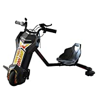 Cool  Baby 36V Brushless Drifting Electric Scooter 360 Degree Drift Car Bluetooth & 3 Speed & Switch Watch Toy - Black