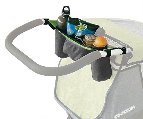 Trinkflaschentasche für Kinderanh. (E) für Croozer Kid for 2 grün ab 2013