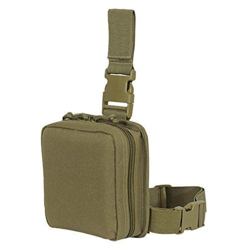 Voodoo Tactical Drop Leg First Aid Pouch (Coyote (Tan))