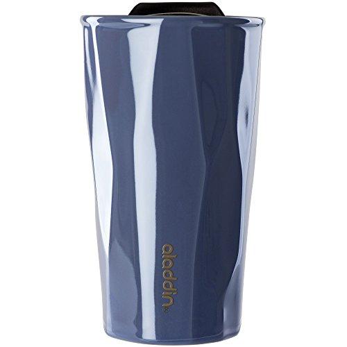 Aladdin 10–03079–002 isotherme Mug en céramique, 283,5 gram, 283,5 gram, pervenche