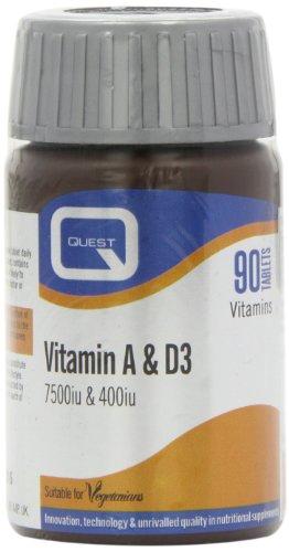 Quest Vitamin A & D3 90 capsule