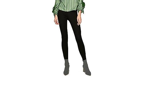 Legging Thermique Femme Chaud Noir 3060 Pantalon Elastique