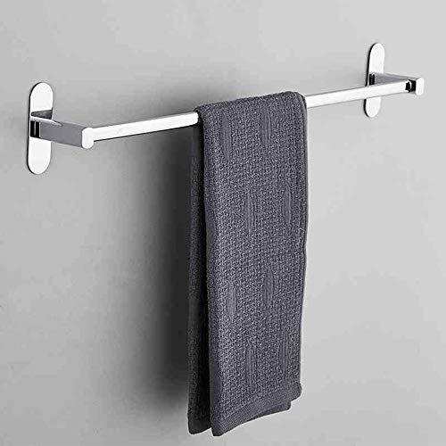 Gjrff Handtuchhalter Free Punching Bad Edelstahl Handtuchhalter Bad Handtuch Hängen Regal Rack (Size : A 30cm) (Handtuchhalter Bronze 30 Eingerieben öl)