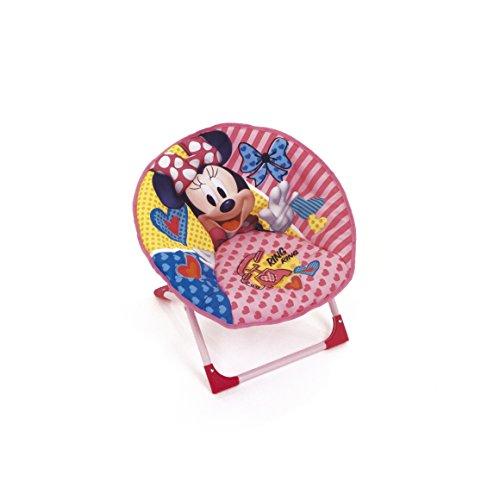 Arditex Sitz Mond faltbar aus Polyester mit Struktur aus Metall unter Lizenz Minnie Mouse, Stoff, 50x 50x 50cm