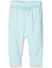 TOM TAILOR Kids Baby Girls Striped Sweat Pant With Bow Trouser