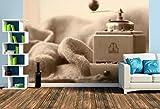 Premium Foto-Tapete Alte Kaffeemühle (versch. Größen) (Size L | 372 x 248 cm) Design-Tapete, Wand-Tapete, Wand-Dekoration, Photo-Tapete, Markenqualität von ERFURT