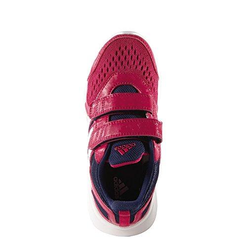 adidas Scarpe da Atletica Leggera bambini Multicolore (Rosa / Azul marino / Blanco)