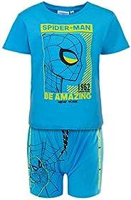 Characters Cartoons Spiderman Marvel Avengers - Bambino - Completo Set 2pz Coordinato Maglietta e Pantaloncino