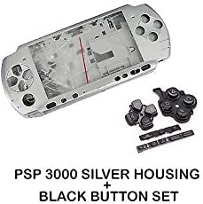 TCOS TECH PSP 3000 Series Full Replacement Housing Case Face Plate Buttons for PSP 3000