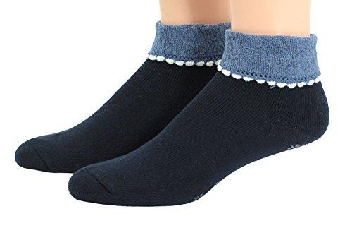 mujer-calcetines-de-descarga-con-abs-calcetines-de-estar-por-casa-algodon-marino-vaqueros-85-algodon