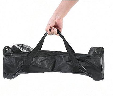 Sac pochette, sac de transport pour trottinette électrique, électriques, e-board roller à 2 roues, l'équilibre (noir)