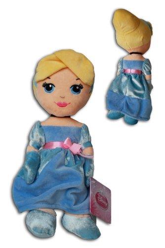 Princess Disney Blonde (Aschenputtel 30cm Plüsch Cinderella Disney Princess Weich Puppe Blonde Blauen)