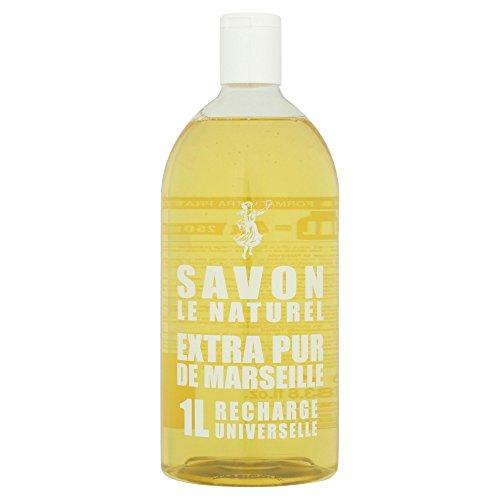Savon Le Naturel Extra Pur de Marseille Recharge Universelle 1 L