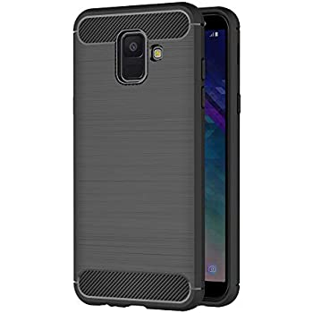 Spigen Coque Samsung A6 Plus, Coque Galaxy A6 Plus [Liquid Air] TPU Souple, Anti Choc