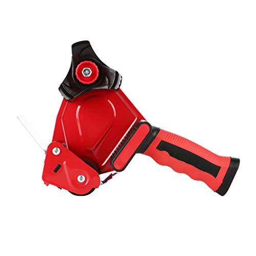 FXCO Hochleistungs-Klebeband-Pistolen-Spender, Der Verpackungs-Paket-Klebeband-Spender-Schneider-Maschinen-manuelles Verpackungswerkzeug Versiegelt -