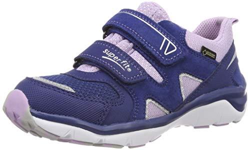 Superfit Mädchen Sport5 Gore-Tex Sneaker, Blau (Blau/Lila 83), 21 EU