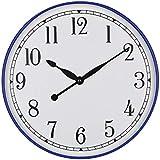 AZW@ Clock Relojes de Pared para Restaurantes, Reloj Creativo Europeo de 12 Pulgadas,