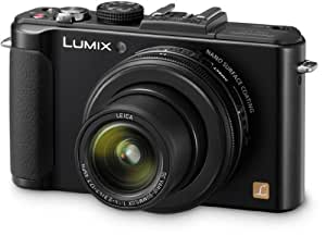Panasonic Lumix DMC-LX7EG-K Kompaktkamera (10 Megapixel, 3.8-fach opt. Zoom, 7,6 cm (3 Zoll) Display, 24mm Weitwinkel, manueller Fokus, Full-HD Video) schwarz