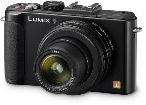 Panasonic Lumix DMC-LX7EG-K Kompaktkamera (10 Megapixel, 3.8-fach opt. Zoom, 7,6 cm (3 Zoll) Display, 24mm Weitwinkel, manueller Fokus, Full-HD Video) schwarz (Panasonic Lumix Lx7 Kamera)