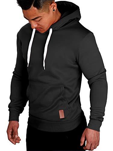 SANMIO Herren Kapuzenpullover Langarm Herbst Winter Casual Sweatshirt Hoodies Top Bluse Trainingsanzüge Pullover Winter Herren Sweatshirt