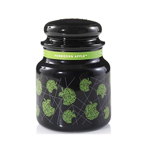 Yankee Candle Forbidden Apple Duftkerze im Glas, grün, 9.5 x 9.5 x 13.8 cm