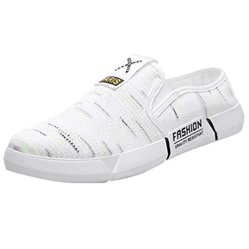 Segeltuchschuhe Herren Sneaker Slip-on Faule Schuhe Leichte Bequem Touristische Schuhe Outdoor Freizeit Turnschuhe Elegante Touristische Schuhe Outdoorschuhe -