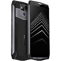 Ulefone Power 5 Smartphone sbloccato con una batteria da 13000 mAh, Android 8.1 (2018) 6G+ 64G, 6.0FHD, Quattro telecamere e Dual Sim Standby, Face ID e impronte digitali, 5A Carica rapida (Nero)