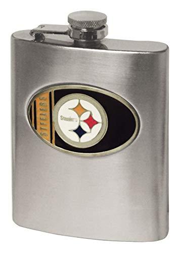 Simran International NFL Flachmann, Pittsburgh Steelers, 8-Ounce
