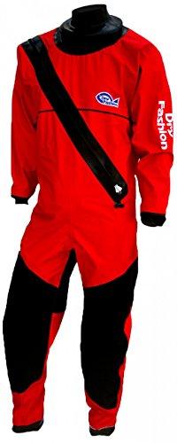 Dry Fashion Trockenanzug Profi Sailing Regatta, Farbe:rot/schwarz;Größe:M (Trockenanzug Nylon)