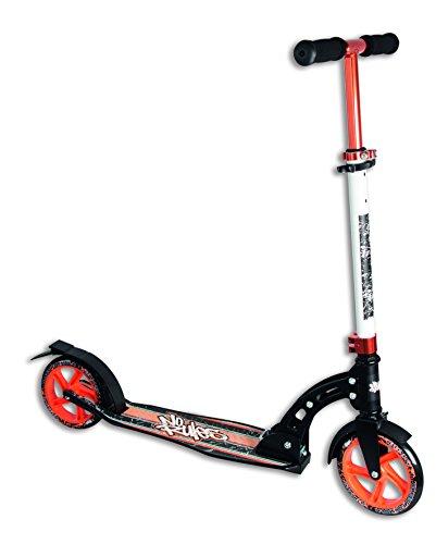 Alu Scooter Cityroller No Rules 180 Orange Schwarz