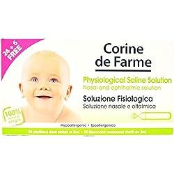 Corine de Farme Sérum Physiologique Bébé 30 x 5 ml - Lot de 15