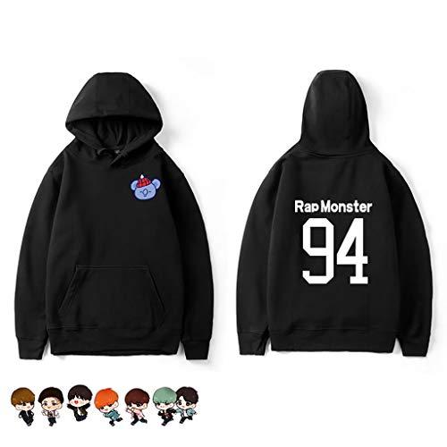 Youth Dibujos Chaqueta Hop Entrenamiento Animados Bulletproof League Miembro Suéter Sweatshirtbts Xb Hip Camisa Kpop Pullover Popular Bts Cool De 3AjL45R