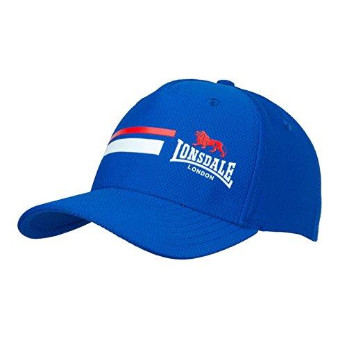Lonsdale Hombre Gorra Con Visera Capa De Malla Azul