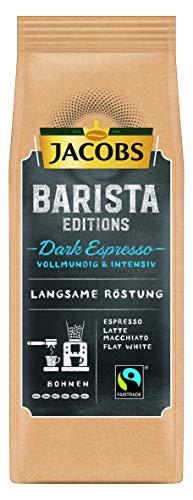 Jacobs Kaffeebohnen Barista Editions Dark Espresso Bohnen, 6er Pack (6 x 210 g)