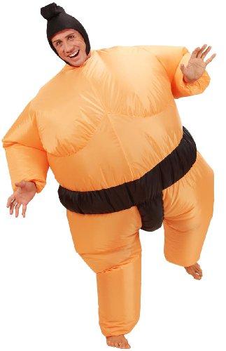 Costume gonfiabile da lottatore di sumo da adulto taille unique