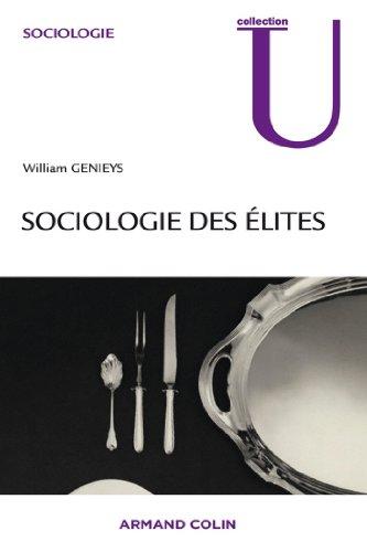 Livres gratuits en ligne Sociologie des élites epub pdf