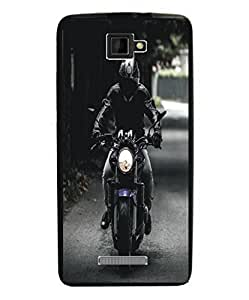 Techno Gadgets Back Cover for Panasonic Eluga S Mini