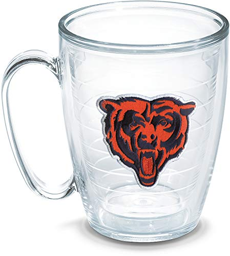 Tervis Tasse, 473 ml NFL Chicago Bears Bear 16 oz farblos (Chicago Bears Tassen)