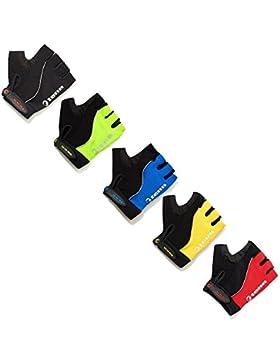 Unisex Fusion Fingerless Gloves/Mitts - Yellow - Lrg (W: 2XL)