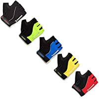 Tenn-Outdoors Unisex Fingerless Padded Cycling Mitts