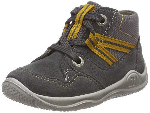 Superfit Baby Jungen Universe Sneaker, Grau (Grau/Gelb 20), 24 EU