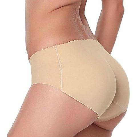 Sannysis® Ropa interior sin costuras acolchadas; Bragas extremo de la caderala ropa interior de la muñeca Bra Set G-String (carne,