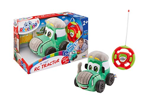 Revell Revellino 23200 Mein erster RC-Traktor mit 27MHz Fernsteuerung ferngesteuertes Auto aus Plüsch, zum...