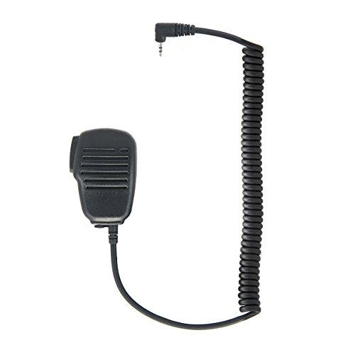 COBRA ELECTRONICS GA-SM08 Hand-Lautsprechermikrofon, kompatibel mit microTalk Funkgeräten Schwarz