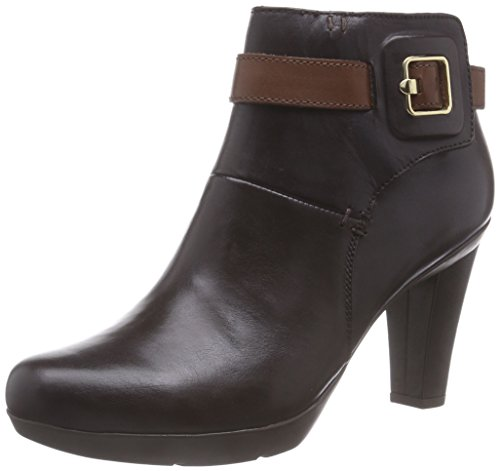Geox  D INSPIRATION STIV B, Bottines femme Marron - Braun (C0184Coffee/Brown)