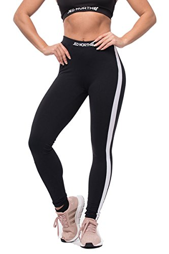 Jed North Women's Athletic Gym Fitness High-Waisted Workout Leggings
