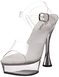 Pleaser Sweet-408 - sexy plataforma zapatos de tacón alto mujer sandalias - tamaño 35-42, US-Damen:EU-41/42 / US-11 / UK-8