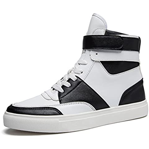 SITAILE Uomo High Top Scarpe da Ginnastica Basse Sportive Outdoor Stivaletti Sneakers stivali