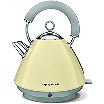 morphy richards 102032 accents pyramid wasserkocher in creamfarben. Black Bedroom Furniture Sets. Home Design Ideas