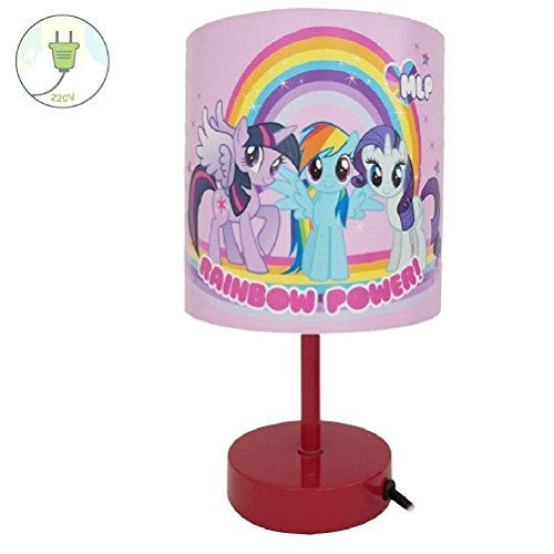 Lampe de chevet LITTLE PONY raimbow